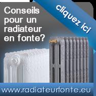 les radiateurs en fonte