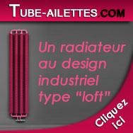 les radiateurs à tubes à ailettes